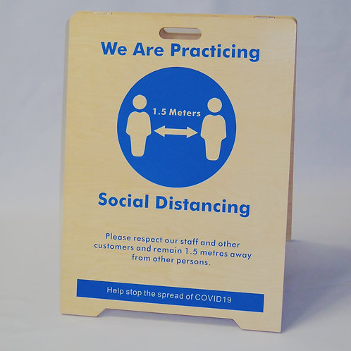 Social Distancing A-Frame