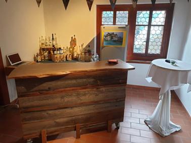 Bar vor dem Saal