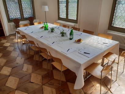 Saal Immenfeld als Sitzungszimmer