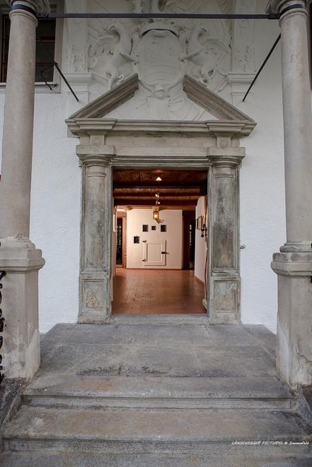 Ihr Eingang ins Haus