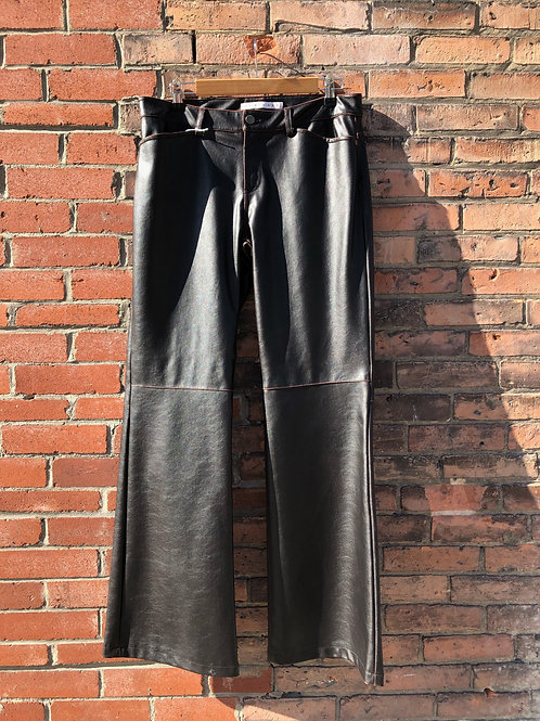 90's leather pants