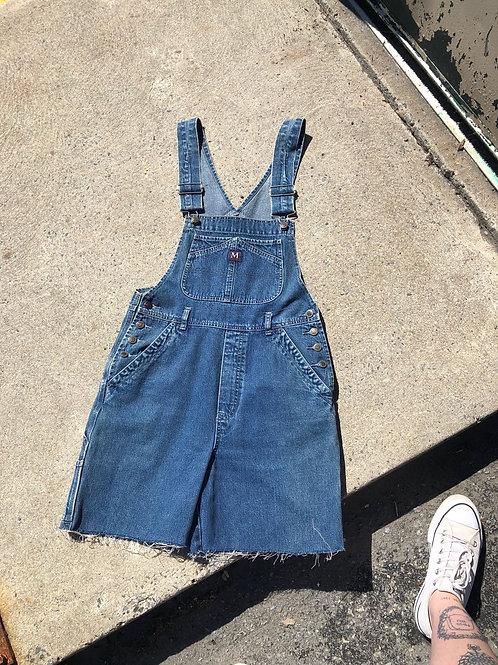 90's short overalls