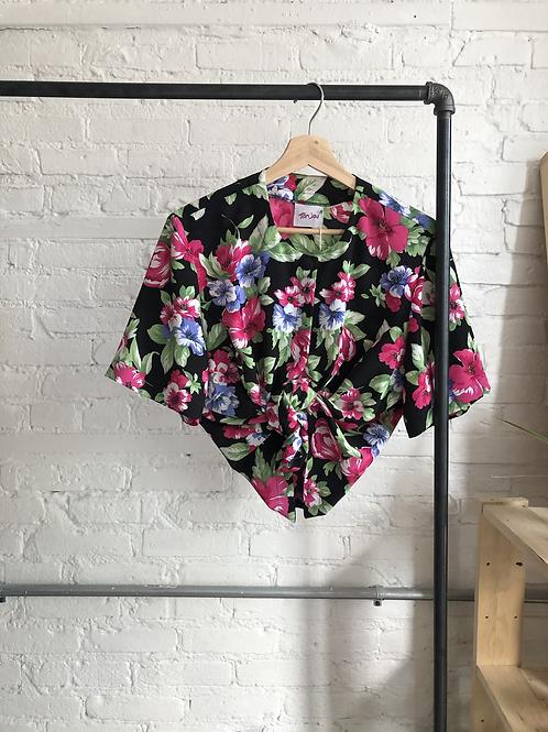 80's floral