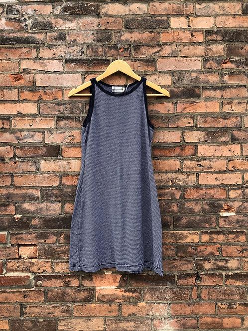 stripe minidress