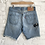Thumbnail: levis embroidered shorts