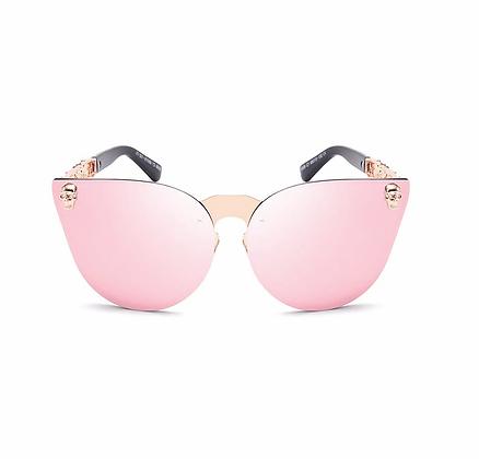 Óculos Skull Pink