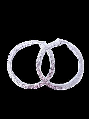 Brincos Argola Silver Givenchy