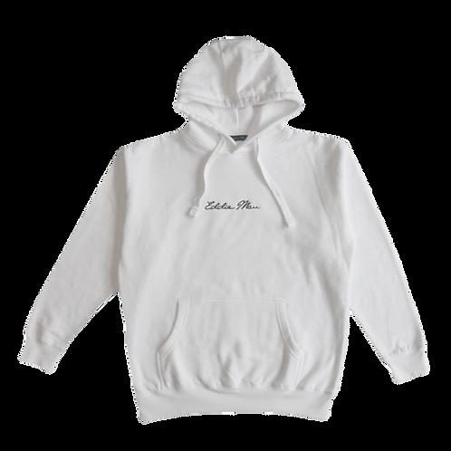 White Premium Hoodie