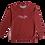 Thumbnail: Red Crewneck Sweatshirt