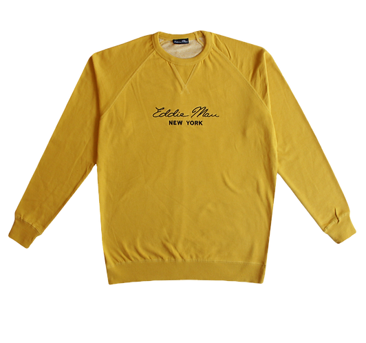 Mustard Crewneck Sweatshirt