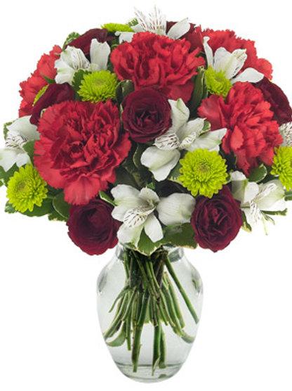 """Carnation Mix"" Carnation Bouquet"