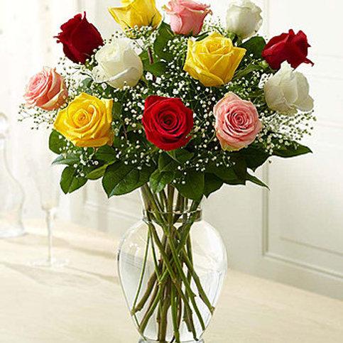 """Multi-Rose"" Bouquet"