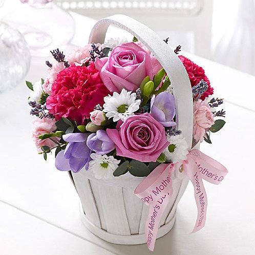 Mother's Day Small Bring Basket