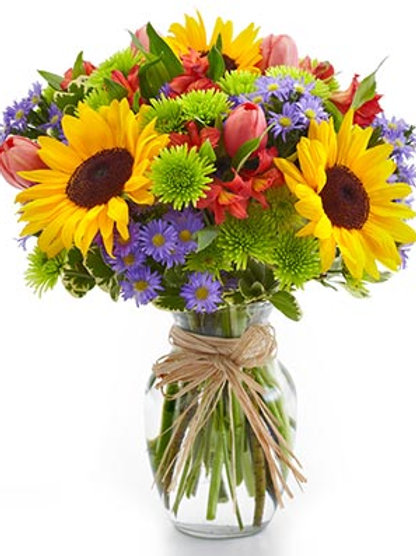 """Sunflower Freshness"" Bouquet"
