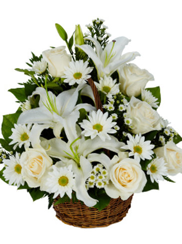 White-Sympathy Basket