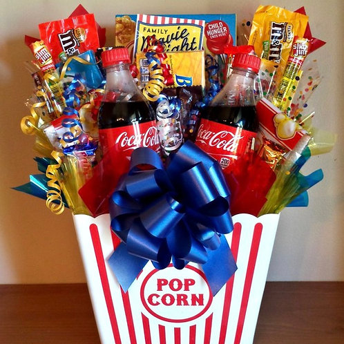 """Movie Night"" Basket"