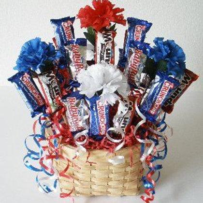 Patriot Sweet Treat Basket