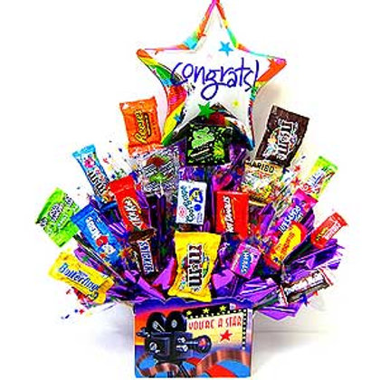Congrats Sweet Treat Basket
