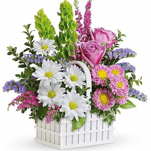 """Spring Basket"" Bouquet"