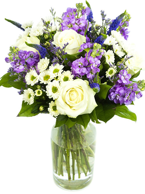 """Lavender Splash"" Bouquet"
