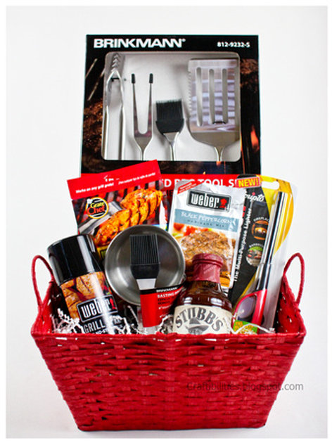 """""""BBQ""""Father's Day Basket"""