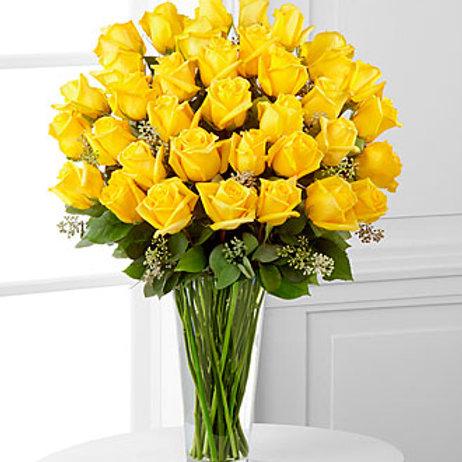 """""""Lemon Rose"""" Bouquet"""