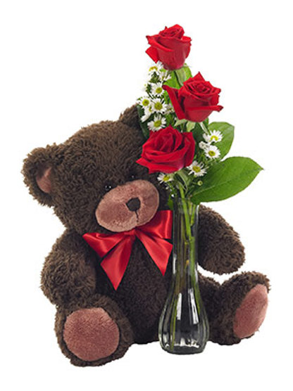 """""""I Love You Beary Much"""" Bouquet"""