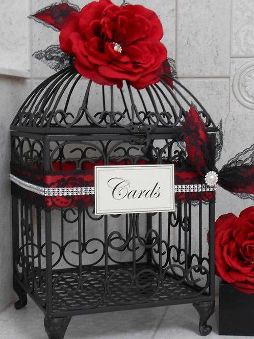 """""""Birdcage"""" Card Holder"""