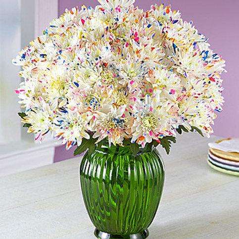 """""""Confetti Mums"""" Celebration Bouquet"""