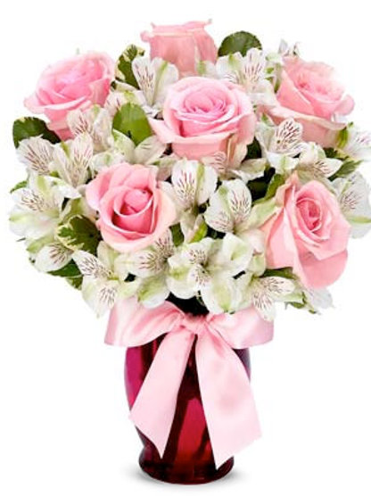 Pink  & Lily Bouquet