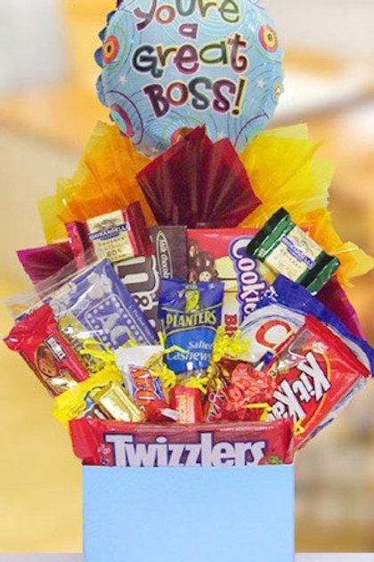 """""""Boss Snack"""" Basket"""