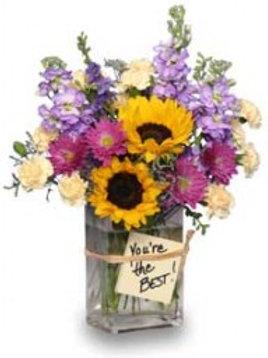 """Your The Best"" Bouquet"