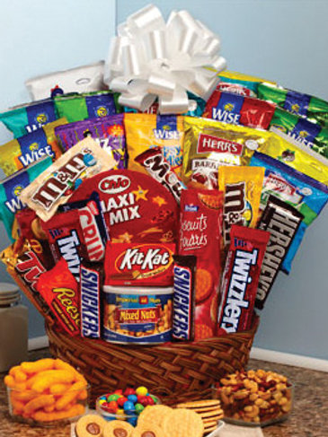"""Snack Attack"" Basket"