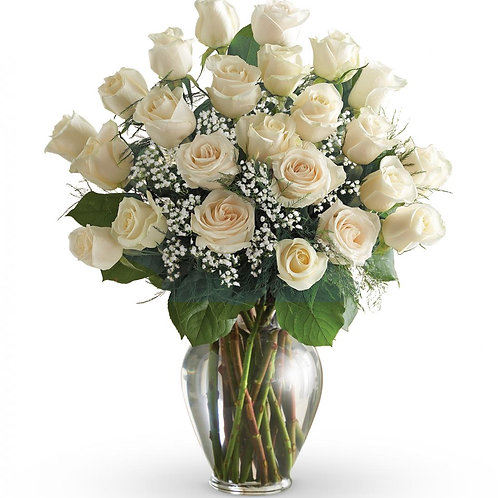 """White Rose"" Bouquet"