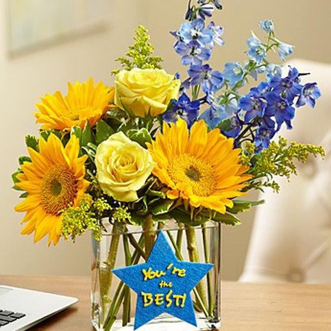 """""""Best Wishes"""" Bouquet"""