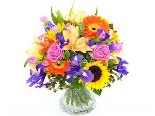Mixed Vibrant Bouquet