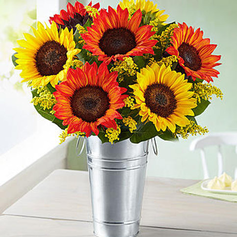 """Multi-Sunflower"" Bouquet"