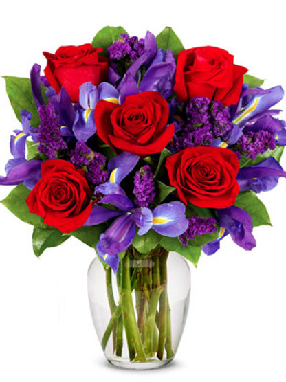 """Purple Mix"" Bouquet"
