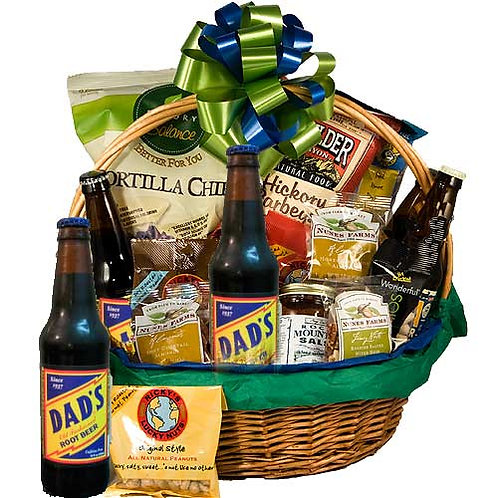 """Root Beer"" Father's Day Basket"