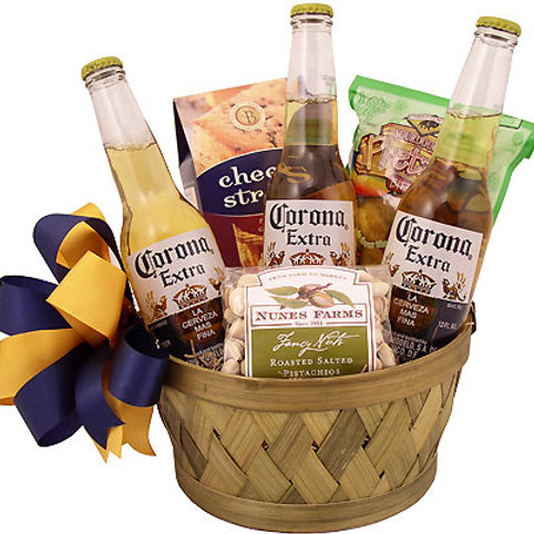 """""""Beer & Nuts"""" Father's Day Basket"""