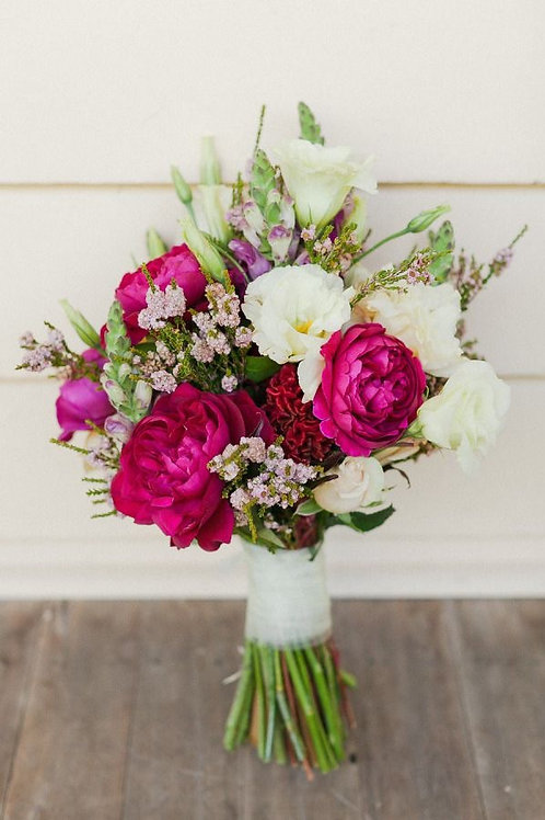 """""""Hot Pink Mix"""" Wedding Bouquet"""