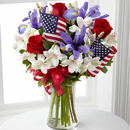 """""""Patriotic"""" Bouquet"""