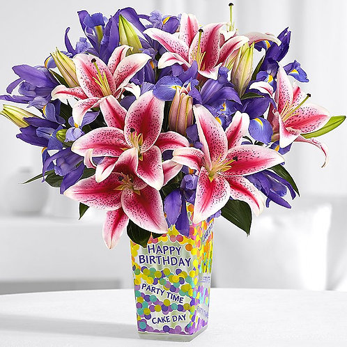 """Mixed Lilly""  Birthday Bouquet"