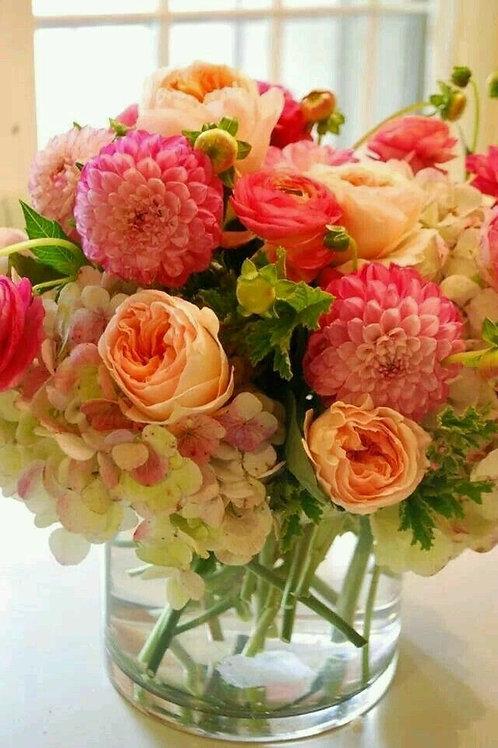 """Pastel Melody"" Bouquet"