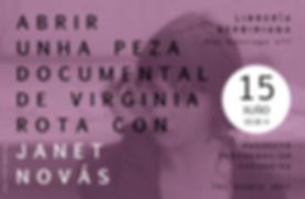 Librería Berbiriana  + Virginia Rota & Janet Novás