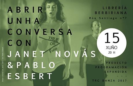 Librería Berbiriana  + Pablo Esbert & Janet Novás
