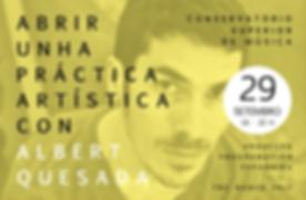 Conservatorio Superior de Música  + Albert Quesada