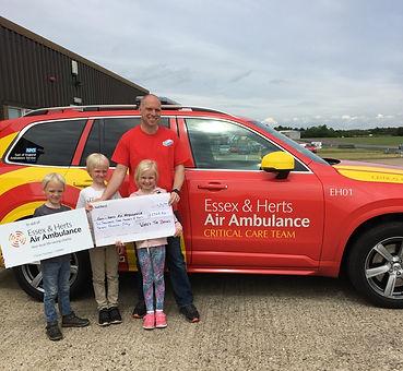 Donating to Air Ambulance