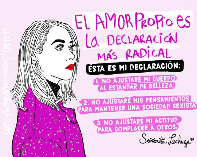 Ésta es mi revolución: Voy a amarme
