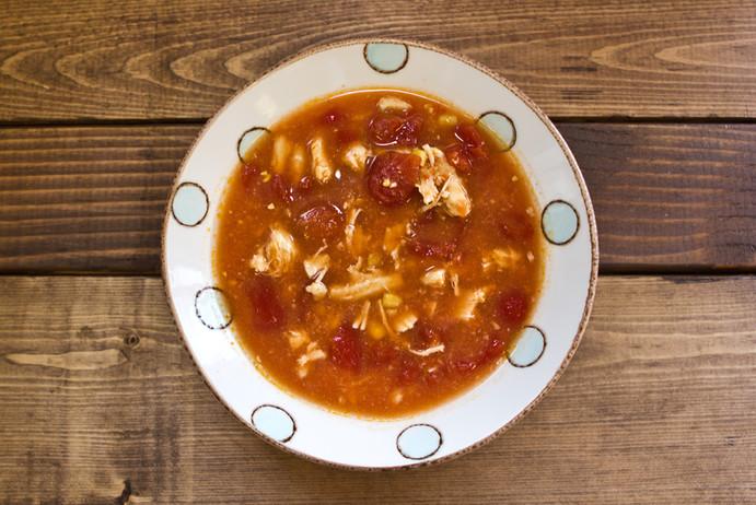 Skinny Tortilla Soup